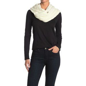 Michael Kors French Cable Knit Infinity Scarf NWT